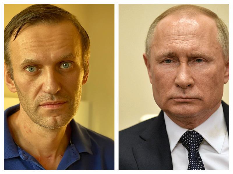 Путин сказал, что Навальный сам себя отравил