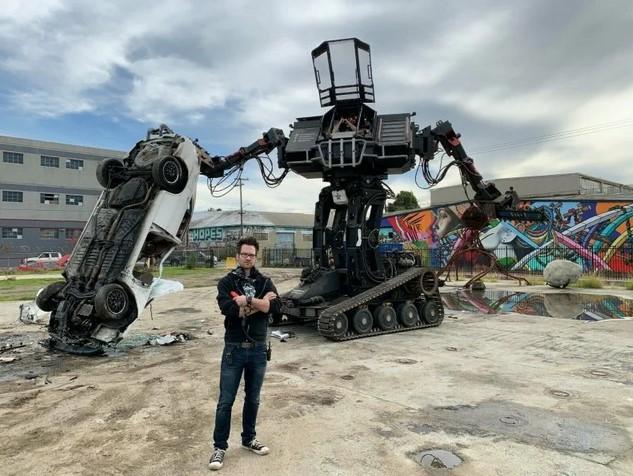 Битвы роботов-гигантов