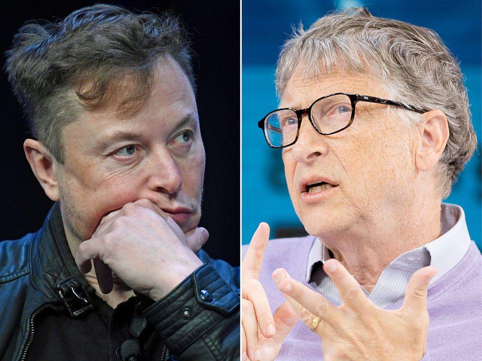 Илон Маск назвал Билла Гейтса вторым богатейшим человеком в мире