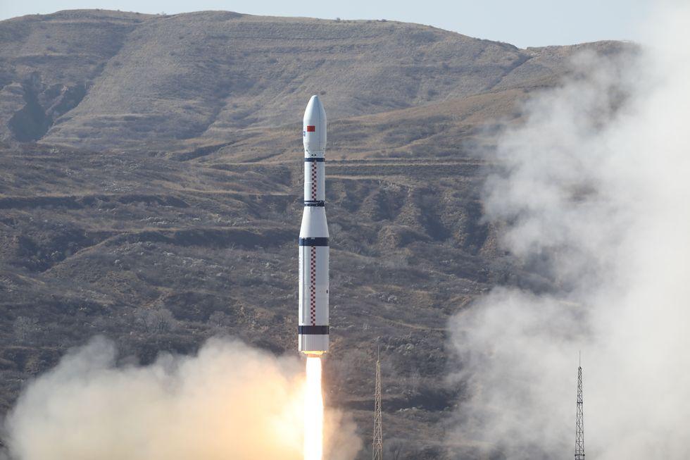 Китай запустил первый в мире спутник 6G