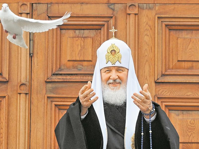Патриарх зарегистрировался в однокласниках