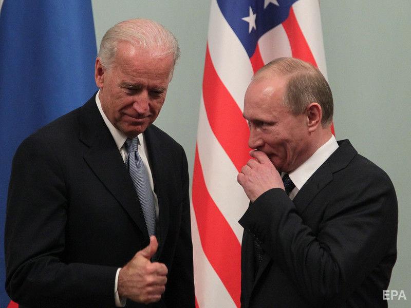 Путин не поздравил Джо Байдена