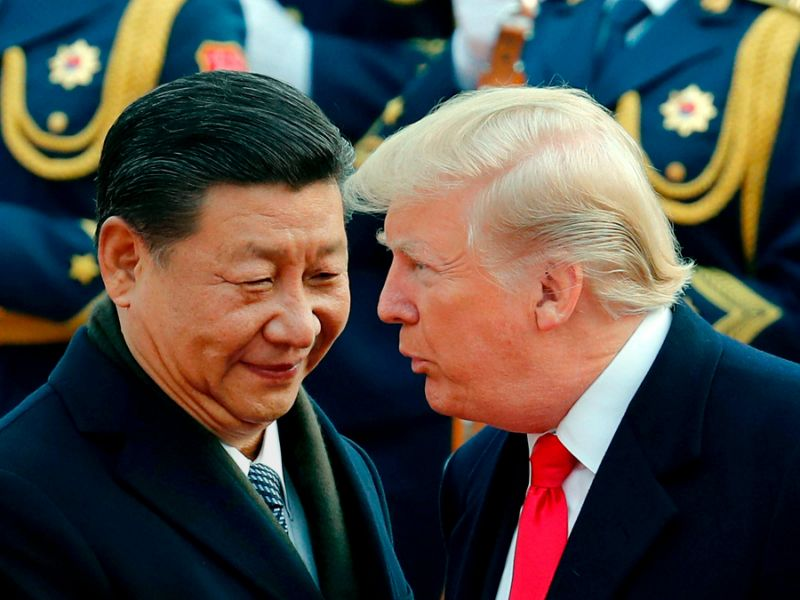 Трамп ударил по Китаю