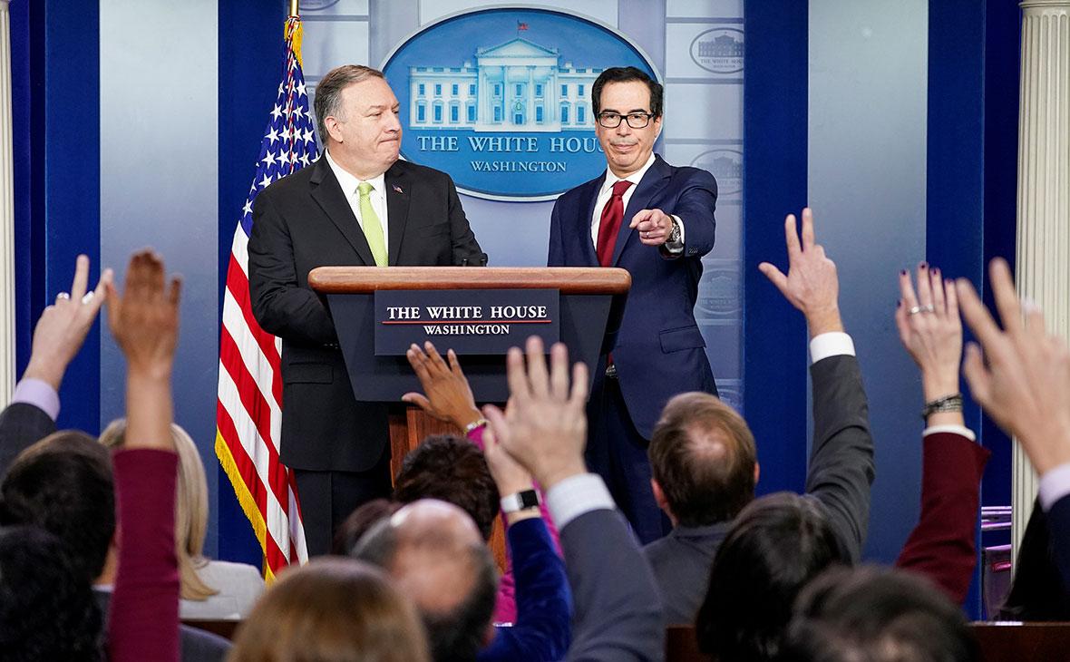 Вашингтон ввел санкции против компаний за сотрудничество с Тегераном