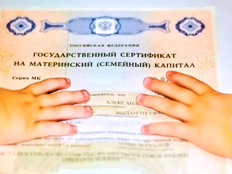 Ряд российских семей заставят вернуть материнский капитал государству