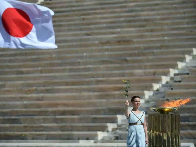 Эстафета олимпийского огня стартует в Японии 25 марта