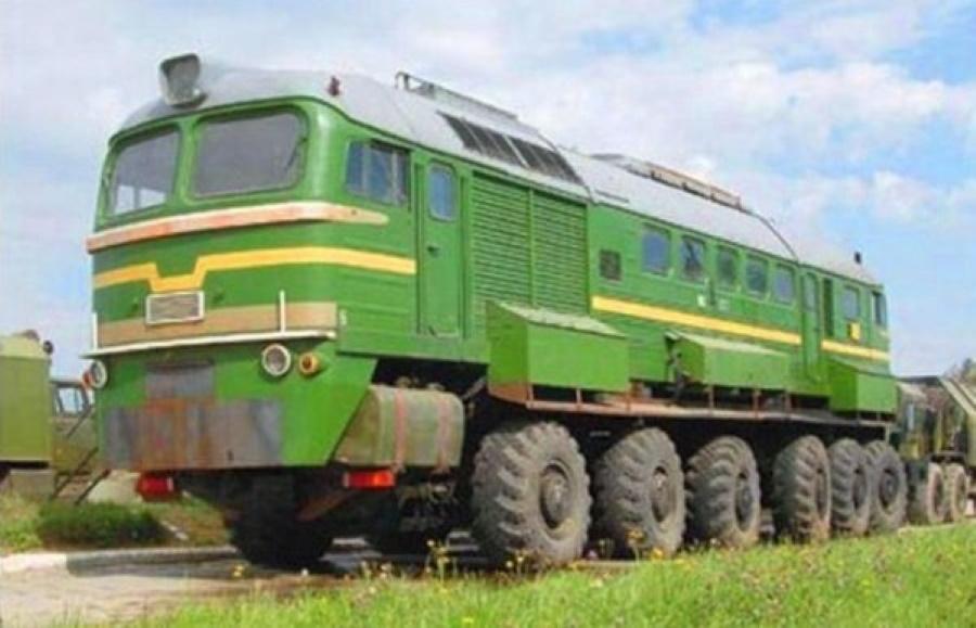 Тепловоз на шинах -Техника СССР и других социалистических стран