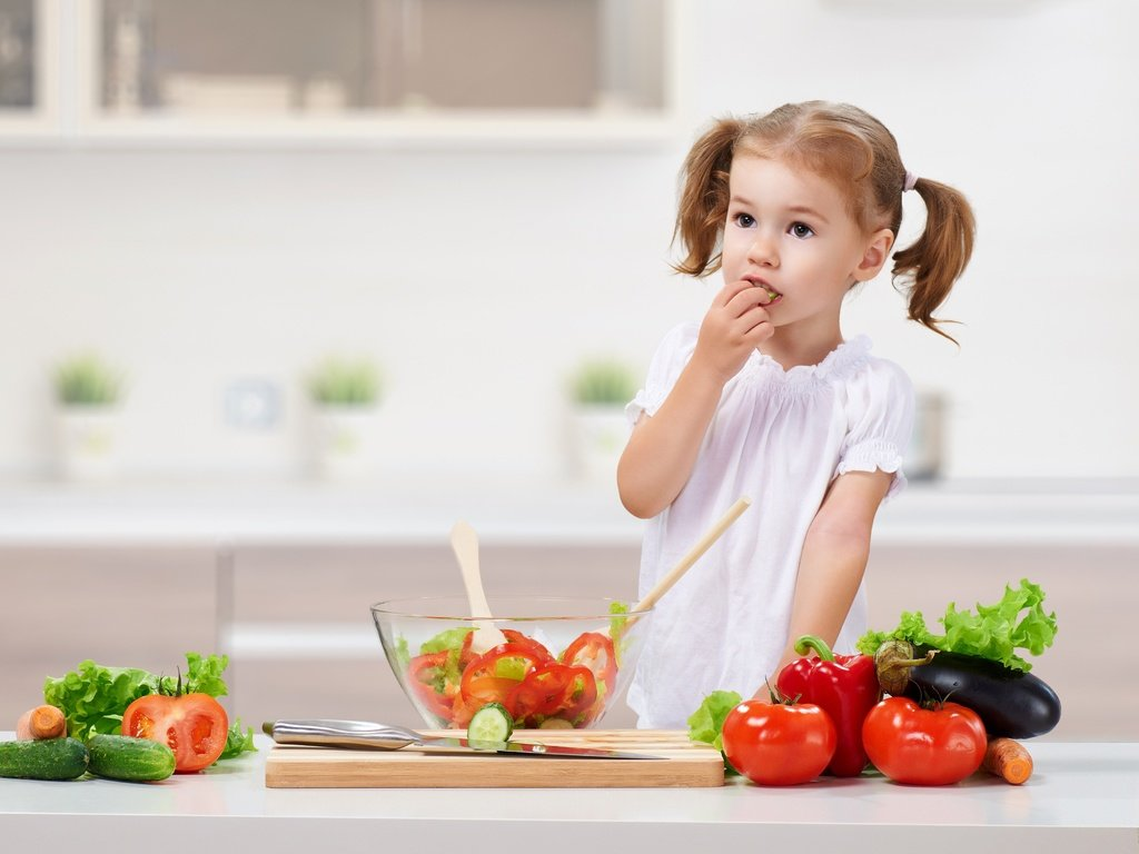 Детская диета влияет на всю жизнь