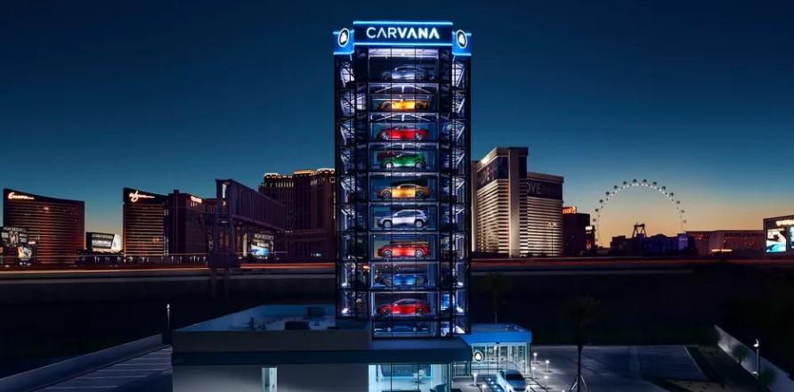 Игровой автомат в Лас-Вегасе раздает подержанные автомобили