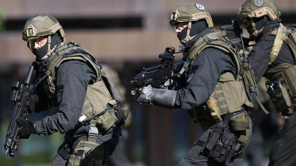 Немецкий спецназ ошибочно приняли за террористов