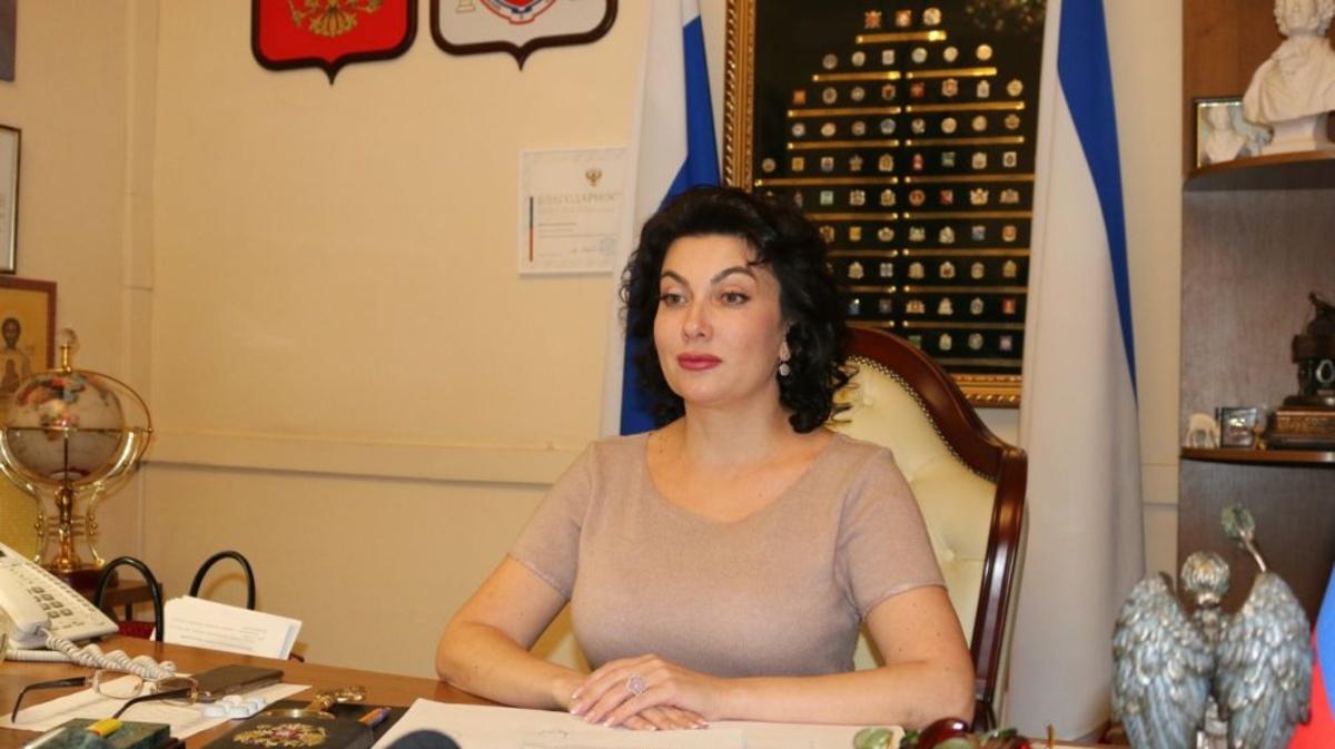 Министр культуры Крыма в прямом эфире выразилась некультурными словами