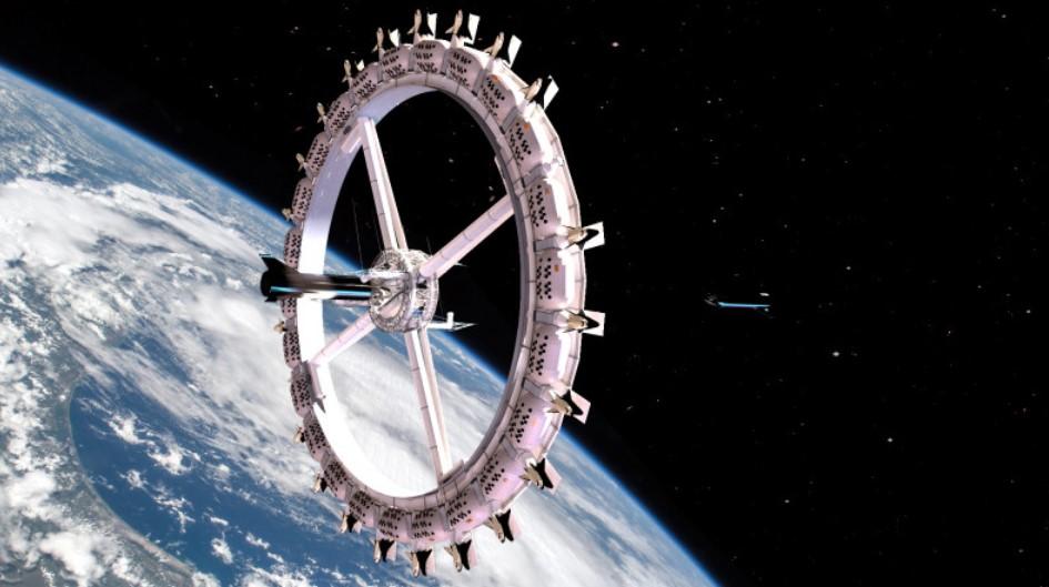 Первый в мире космический отель откроется в 2027 году