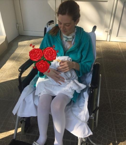 Больная раком девушка решила пожертвовать своей жизнью ради ребенка
