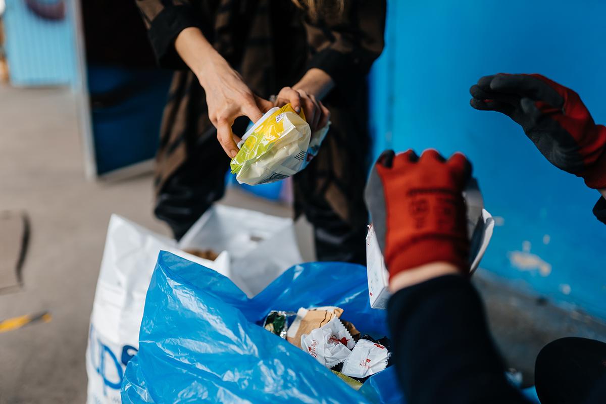 Труп младенца нашли на заводе по переработке мусора