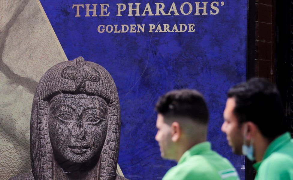 Египетские мумии пройдут через Каир на параде древних правителей