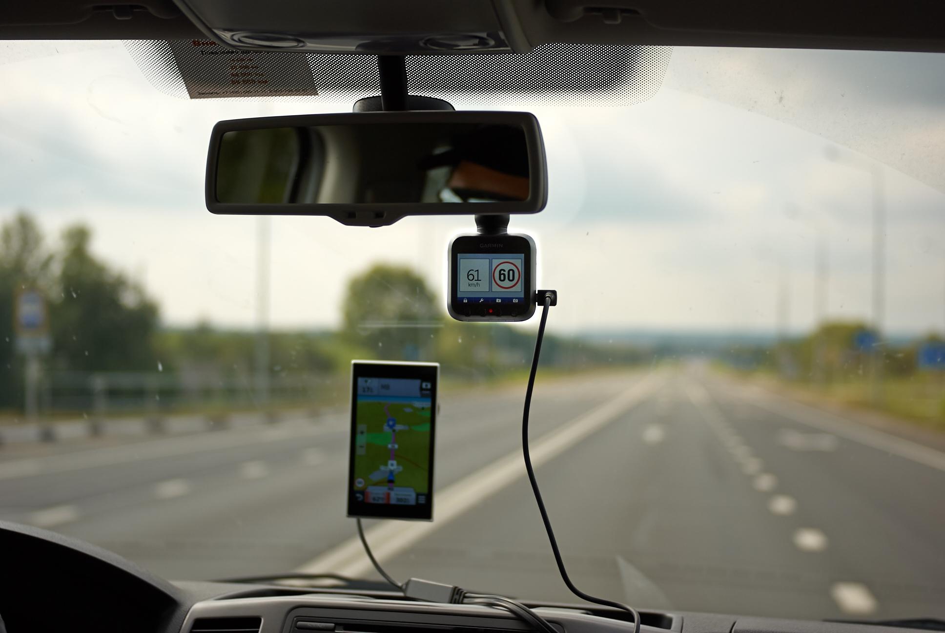 Водителей собираются штрафовать за видеорегистраторы