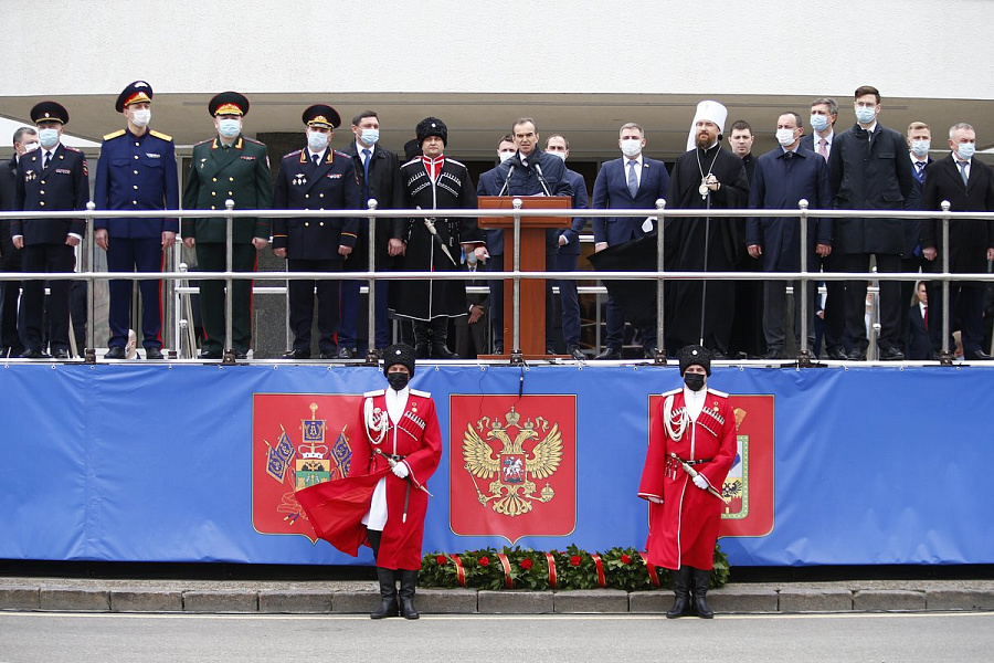 В Краснодарском крае отметили 30-ю годовщину реабилитации казачества