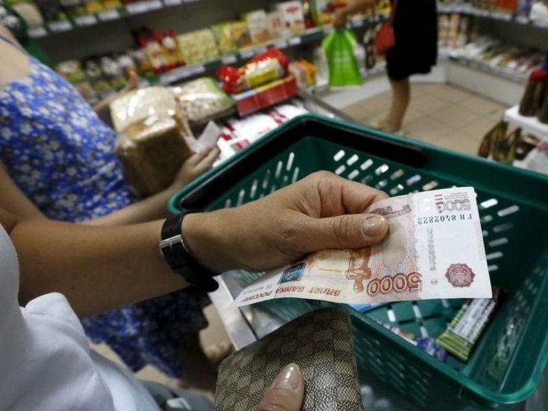 Россияне рассказали сколько они тратят на продукты за месяц