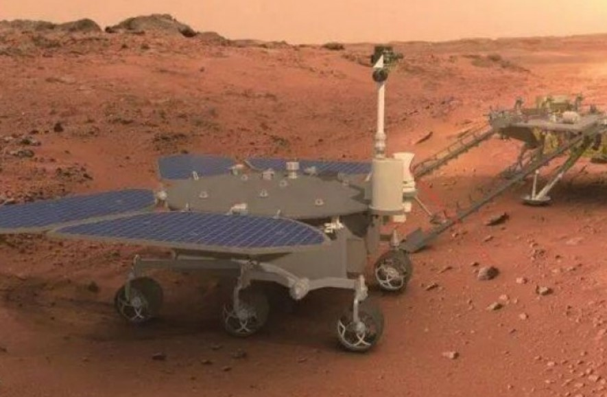 Китай назвал свой первый марсоход в честь бога огня - «Чжужун»