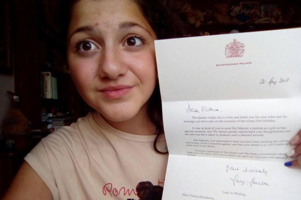 Королевский ответ: российская школьница получила письмо от Елизаветы II