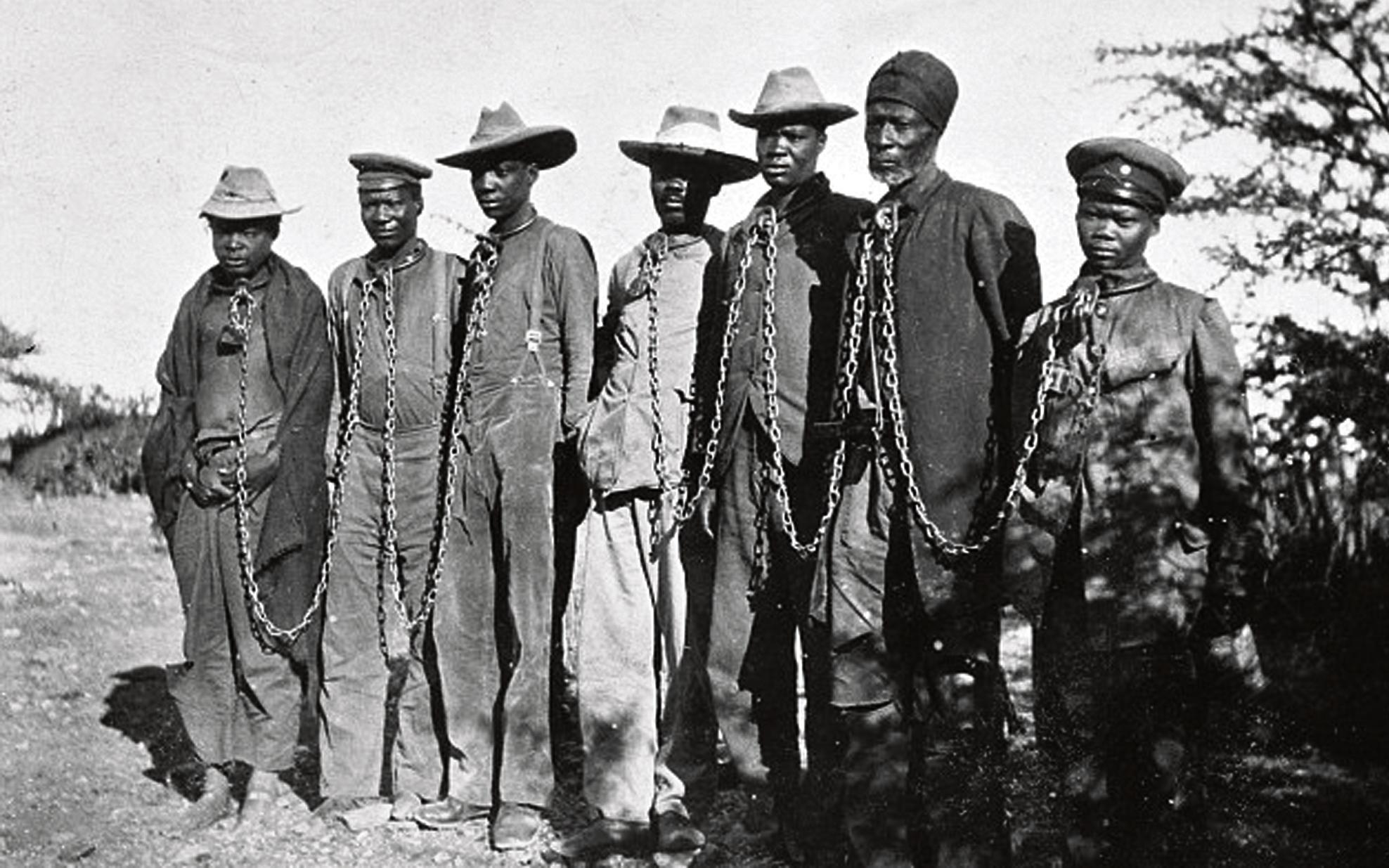 Германия официально признала геноцид колониальной Намибии