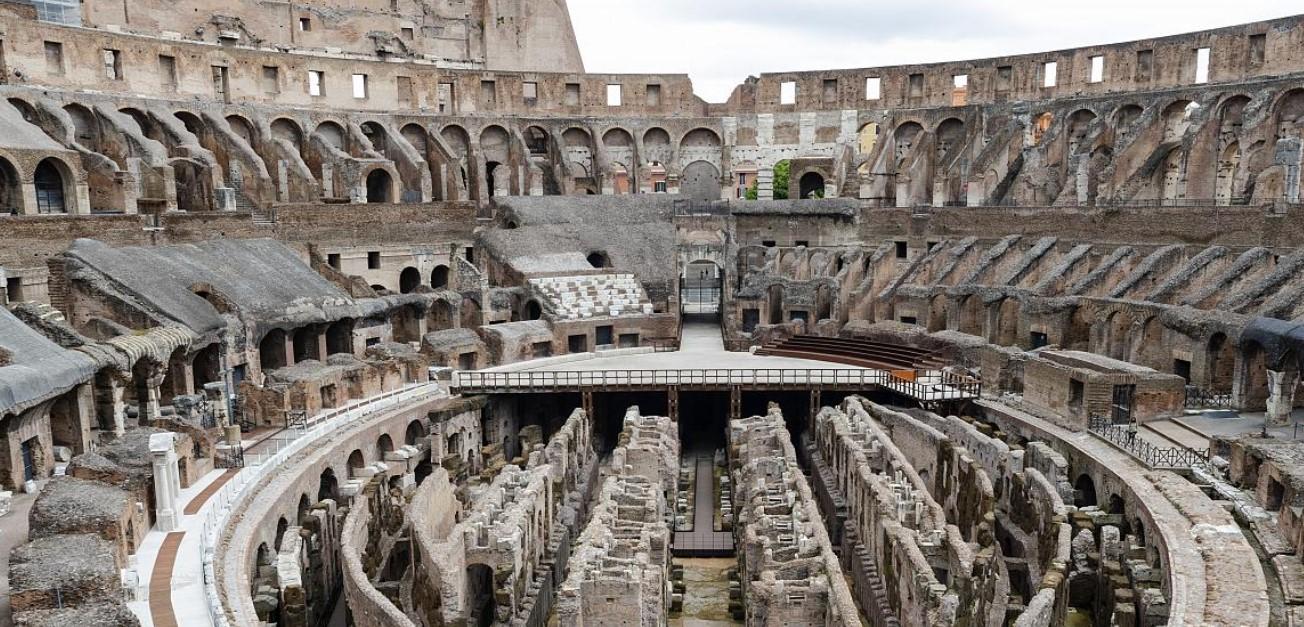 В римском Колизее появится новый выдвижной пол