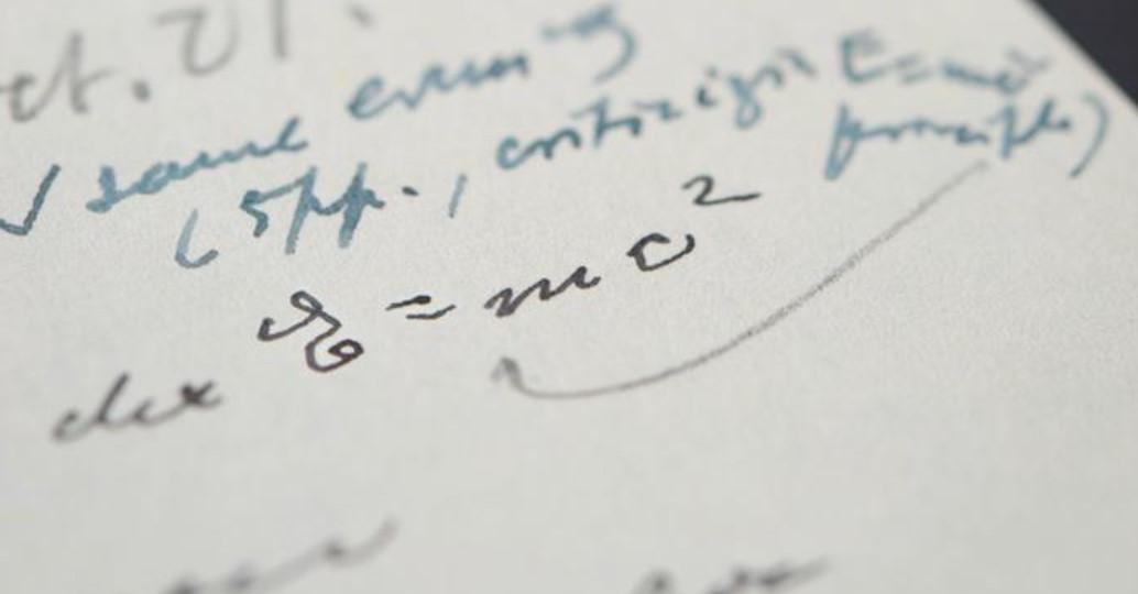 Письмо Энштейна было продано за 1,2 миллиона долларов