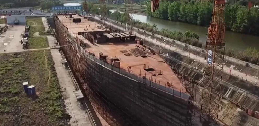 Китай построит точную копию Титаника