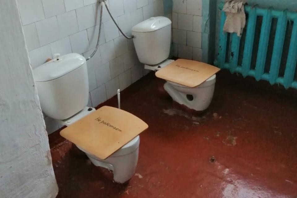 В России выбрали самые худшие школьные туалеты