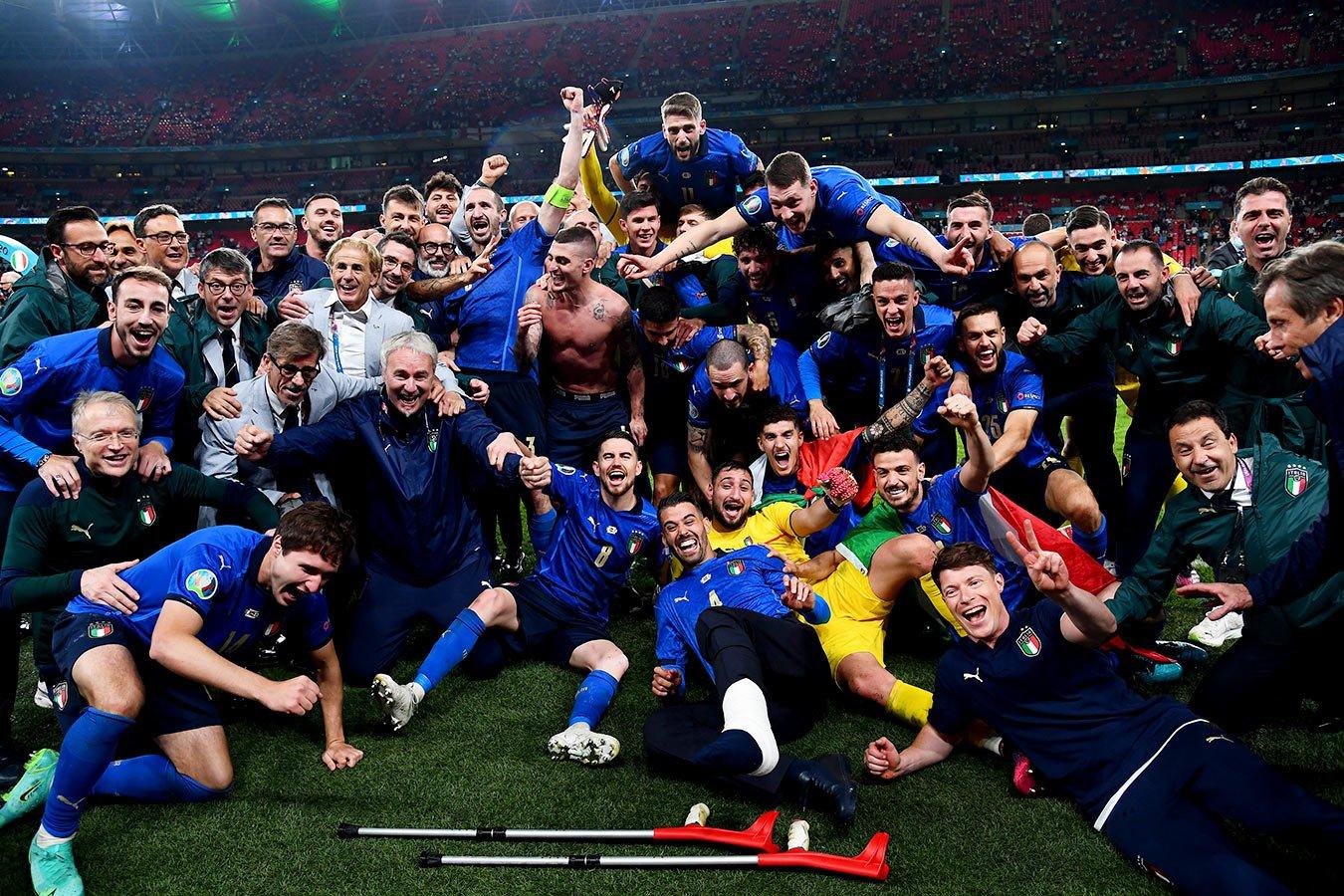 В серии пенальти Италия одержала победу над Англией
