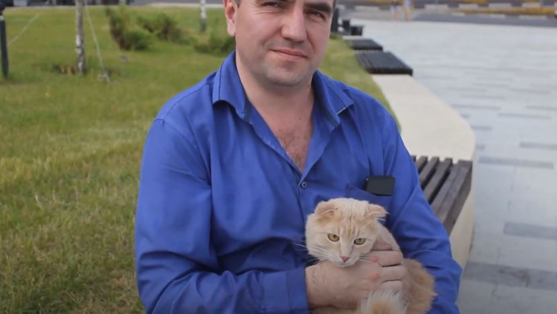 Россиянин продал машину ради спасения кошки
