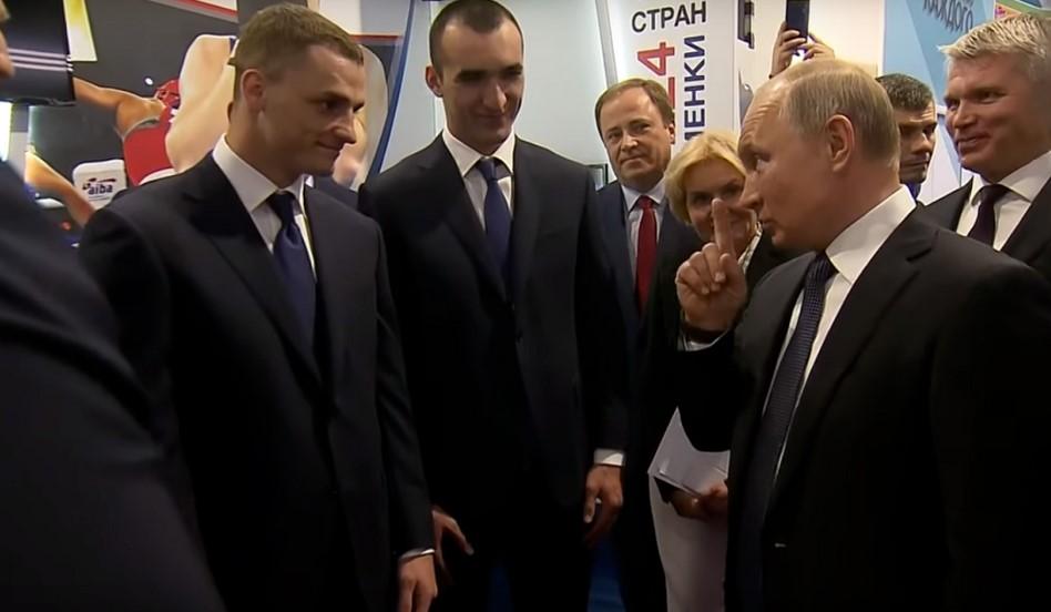 Владимир Путин рассказал о том, как ему сломали нос