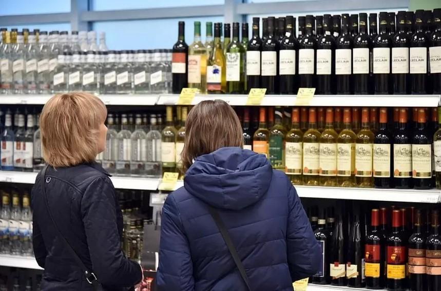 В России стали меньше употреблять водку