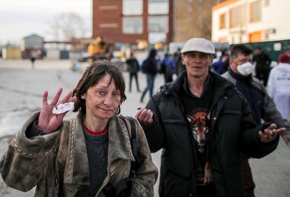 В Москвe на треть уменьшись количество бездомных